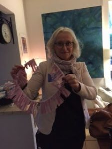 Sunne with lottery tickets